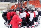 Lietuvos jaunių ledo ritulio rinktinės stovyklą paliko penki žaidėjai