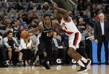 """Sezono mačą sužaidęs D.DeRozanas padėjo """"Spurs"""" klubui atsitiesti"""