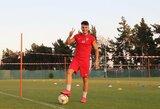 """R.Baravykas Kipre sužaidė lygiosiomis, E.Dubickas pasirodė """"Serie B"""" rungtynėse"""