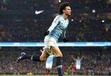 """Anglijos FA taurė: """"Man City"""" užtikrintai nugalėjo ketvirtoje pagal pajėgumą lygoje rungtyniaujančius """"Newport County"""" futbolininkus"""