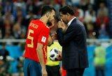 """F.Hierro apie Ispanijos žaidimą: """"Kol kas mums sekasi, tačiau mes turime surimtėti"""""""