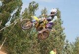 Europos motokroso čempionatas Lietuvoje buvo karštas