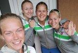 Kelią link olimpinių žaidynių Lietuvos tinklininkės pradėjo sutriuškindamos kroates