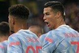 """T.Sherwoodas: """"Lažinčiausi, kad C.Ronaldo po 18 mėnesių taps """"Man United"""" treneriu"""""""
