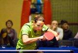 R.Paškauskienė išmėgino jėgas pasaulio stalo teniso turo turnyre Vengrijoje