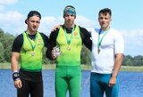 Lietuvos čempionate H.Žustautas iškovojo du aukso medalius