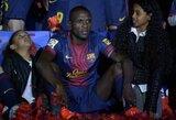 "E.Abidalis po sezono paliks ""Barcelona"""