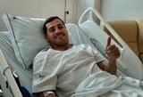 """Vis dar nesitreniruojančio I.Casillaso agentas: """"Jo ateitis futbole priklauso nuo medikų sprendimo"""""""