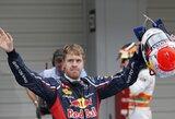 """S.Vettelis džiaugiasi """"beveik tobulai"""" susiklosčiusia kvalifikacija"""