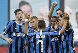 """6 įvarčius varžovams atseikėjęs """"Inter"""" iškovojo pergalę"""
