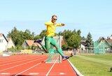 Lietuvos lengvosios atletikos žvaigždėms – paralimpinių atletų iššūkis