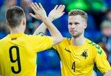 Lietuvos futsalo rinktinė atrankos barjerą įveikė su geriausiu savo rezultatu