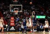 """""""Heat"""" išplėšė pratęsimą, bet jame stipresnė buvo """"Timberwolves"""""""