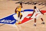 """""""Lakers"""" ir """"Clippers"""" krepšininkai nori nutraukti NBA sezoną"""