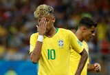 Šveicarai kontraversišku įvarčiu atėmė pergalę iš Brazilijos rinktinės
