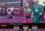 Varžovų nesulaukęs E.Valčiukas Meksikoje pasidabino pasaulio čempionato auksu