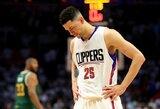 """""""Clippers"""" trenerio sūnus keliasi į Vašingtoną mainais už vidurio puolėją"""