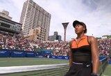 N.Osaka pateisino favoritės statusą ir laimėjo turnyrą gimtinėje