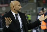 """L.Spalletti: """"Privalėjau pakeisti M.Icardi, nes turėjome išlaikyti komandos struktūrą"""""""