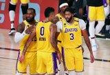 """""""Lakers"""" triuškinamoje pergalėje – D.Lillardo trauma ir blankus L.Jamesas"""