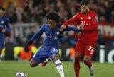 """Dėl naujo kontrakto nesutariantis Willianas svarsto galimybę palikti """"Chelsea"""""""