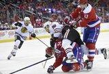 """Aštuntą pergalę iš eilės iškovojusi """"Capitals"""" sutriuškino vienus iš NHL lyderių"""