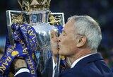 """Gavęs """"Ligue 1"""" palaiminimą, C.Ranieri treniruos """"Nantes"""" klubą"""