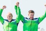 Bronzą iškovoję A.Lankas ir E.Ramanauskas: apie iš gyvenimo išbrauktą sportą, sugrįžimą ir neišskiriamą draugystę