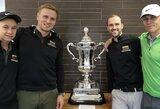 Įvyko Lietuvos golfo rinktinių debiutas pasaulio čempionate