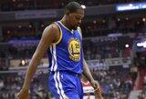 """Ar K.Duranto trauma gali sujaukti """"Warriors"""" sezoną?"""