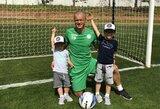 Karjerą baigiantis D.Šernas kviečia į pirmąjį savo vardo vaikų futbolo turnyrą