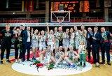"""""""Aistės-LSMU"""" kovoje dėl Baltijos lygos čempionių titulo pripažino TTT pranašumą"""