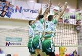 Paaiškėjo Lietuvos tinklinio čempionato atkrintamųjų varžybų poros