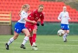 Vilniuje – dramatiškos moterų futbolo rinktinės lygiosios su Farerų salomis