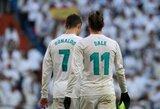 """C.Ronaldo ir  G.Bale'o vedamas Madrido """"Real"""" pasityčiojo iš lygos autsaiderių"""
