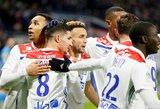 """""""Lyon"""" nepaliko šansų """"Ligue 1"""" autsaideriams"""