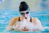 A.Šeleikaitė su asmeniniu rekordu pateko į Europos jaunimo plaukimo čempionato pusfinalį