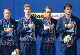 Pasaulio plaukimo čempionato medalių įskaitoje triumfavo amerikiečiai, rusai nepateko į pirmąjį dešimtuką