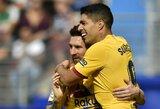 Ispanijos žiniasklaida: komandos draugų įskaudintas L.Messi reikalauja neparduoti L.Suarezo