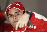 Antrose Kinijos GP treniruotėse greičiausias buvo F.Massa