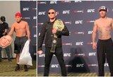"""""""UFC 249"""": T.Fergusonas ir J.Gaethje susitiko akis į akį, H.Cejudo vėl surengė šou"""