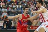 """Per kėlinį 4 taškus pelniusi """"Barcelona Lassa"""" neprilygo Eurolygos čempionams"""