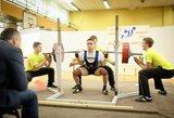 P.Pupinis iškovojo pasaulio jaunimo jėgos trikovės čempionato bronzą