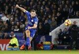 """Paskutiniai perėjimai: D.Drinkwateris keliasi į """"Chelsea"""", A.Silva - į """"Leicester"""""""