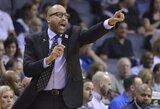 """""""Knicks"""" treneris kitą vasarą tikisi įsigyti NBA žvaigždę"""