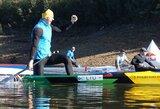 H.Žustautas šventė pergalę kanojų sprinto lenktynėse Portugalijoje