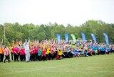 """""""Bėgimas už taiką"""" – solidarumo akcija """"Sportas visiems"""" festivalyje"""