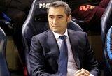 """E.Valverde: """"Neymaro išėjimas tapo sunkiu išbandymu """"Bacelona"""""""