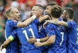 Pasiruošimas pasaulio čempionatui: Šveicarija nugalėjo Japoniją, Kroatija įveikė Senegalą