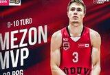Penktosios savaitės NKL MVP – dar vieną karjeros rekordą pagerinęs R.Stankevičius